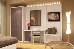 Modern hotel room furniture set